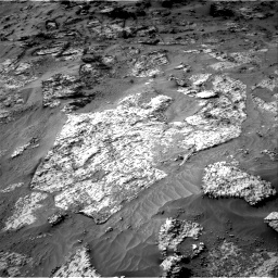 Nasa's Mars rover Curiosity acquired this image using its Right Navigation Camera on Sol 3192, at drive 42, site number 90