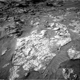Nasa's Mars rover Curiosity acquired this image using its Right Navigation Camera on Sol 3192, at drive 54, site number 90