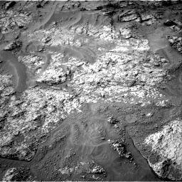 Nasa's Mars rover Curiosity acquired this image using its Right Navigation Camera on Sol 3192, at drive 72, site number 90