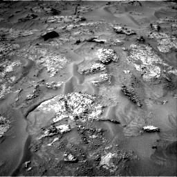 Nasa's Mars rover Curiosity acquired this image using its Right Navigation Camera on Sol 3192, at drive 96, site number 90
