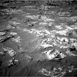 Nasa's Mars rover Curiosity acquired this image using its Right Navigation Camera on Sol 3192, at drive 132, site number 90
