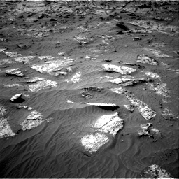 Nasa's Mars rover Curiosity acquired this image using its Right Navigation Camera on Sol 3192, at drive 144, site number 90