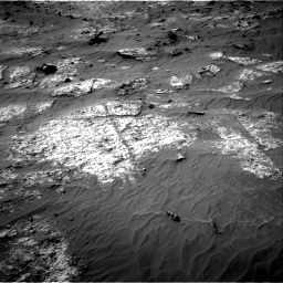 Nasa's Mars rover Curiosity acquired this image using its Right Navigation Camera on Sol 3192, at drive 168, site number 90