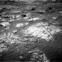 Nasa's Mars rover Curiosity acquired this image using its Right Navigation Camera on Sol 3192, at drive 174, site number 90