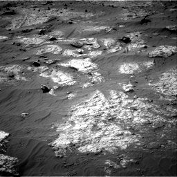 Nasa's Mars rover Curiosity acquired this image using its Right Navigation Camera on Sol 3192, at drive 186, site number 90