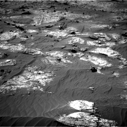 Nasa's Mars rover Curiosity acquired this image using its Right Navigation Camera on Sol 3192, at drive 198, site number 90