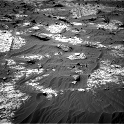 Nasa's Mars rover Curiosity acquired this image using its Right Navigation Camera on Sol 3192, at drive 210, site number 90