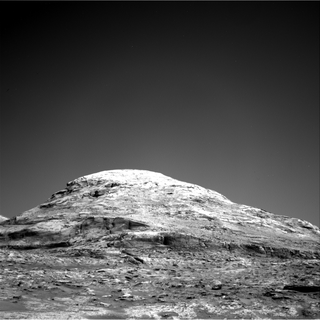 Nasa's Mars rover Curiosity acquired this image using its Right Navigation Camera on Sol 3193, at drive 232, site number 90