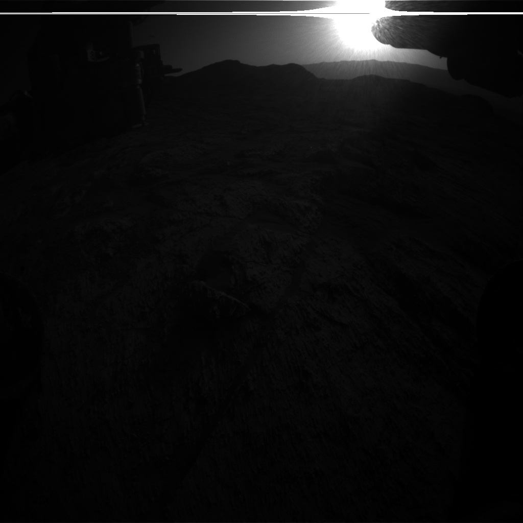 Nasa's Mars rover Curiosity acquired this image using its Front Hazard Avoidance Camera (Front Hazcam) on Sol 3194, at drive 232, site number 90