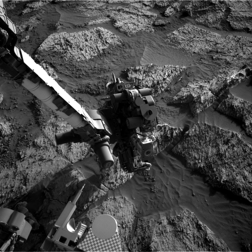 Nasa's Mars rover Curiosity acquired this image using its Right Navigation Camera on Sol 3194, at drive 232, site number 90