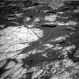 Nasa's Mars rover Curiosity acquired this image using its Left Navigation Camera on Sol 3195, at drive 250, site number 90
