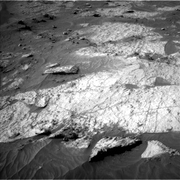Nasa's Mars rover Curiosity acquired this image using its Left Navigation Camera on Sol 3195, at drive 346, site number 90