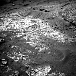 Nasa's Mars rover Curiosity acquired this image using its Left Navigation Camera on Sol 3195, at drive 412, site number 90