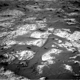 Nasa's Mars rover Curiosity acquired this image using its Right Navigation Camera on Sol 3195, at drive 280, site number 90