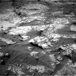Nasa's Mars rover Curiosity acquired this image using its Right Navigation Camera on Sol 3195, at drive 292, site number 90
