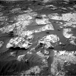 Nasa's Mars rover Curiosity acquired this image using its Right Navigation Camera on Sol 3195, at drive 322, site number 90