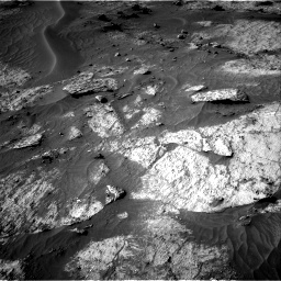 Nasa's Mars rover Curiosity acquired this image using its Right Navigation Camera on Sol 3195, at drive 358, site number 90