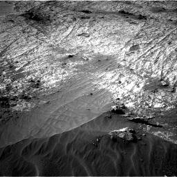 Nasa's Mars rover Curiosity acquired this image using its Right Navigation Camera on Sol 3195, at drive 394, site number 90