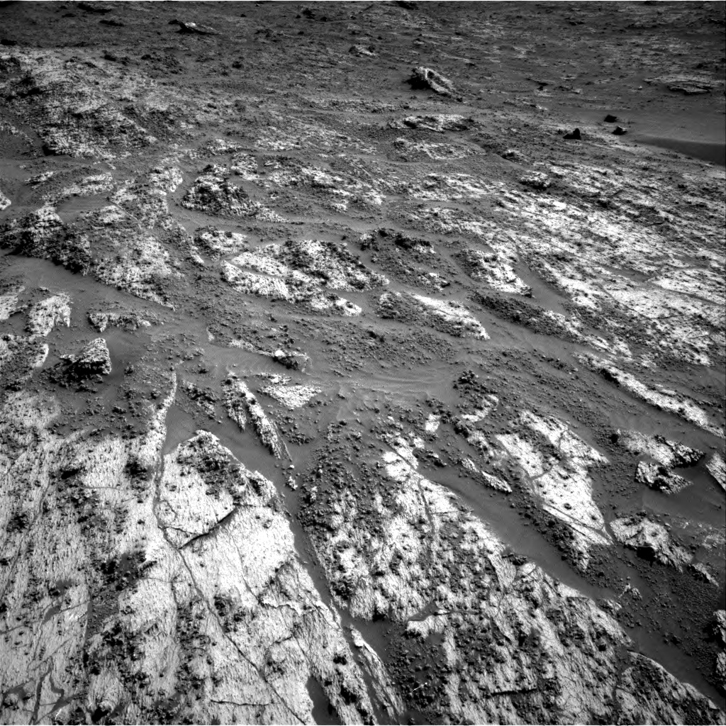 Nasa's Mars rover Curiosity acquired this image using its Right Navigation Camera on Sol 3195, at drive 424, site number 90