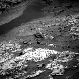 Nasa's Mars rover Curiosity acquired this image using its Right Navigation Camera on Sol 3195, at drive 442, site number 90