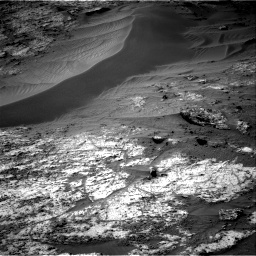 Nasa's Mars rover Curiosity acquired this image using its Right Navigation Camera on Sol 3195, at drive 448, site number 90
