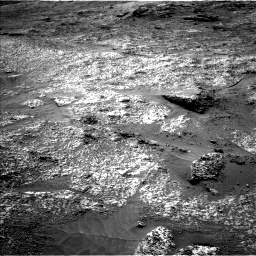 Nasa's Mars rover Curiosity acquired this image using its Left Navigation Camera on Sol 3197, at drive 616, site number 90
