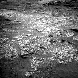 Nasa's Mars rover Curiosity acquired this image using its Left Navigation Camera on Sol 3197, at drive 622, site number 90