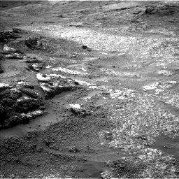 Nasa's Mars rover Curiosity acquired this image using its Left Navigation Camera on Sol 3197, at drive 634, site number 90