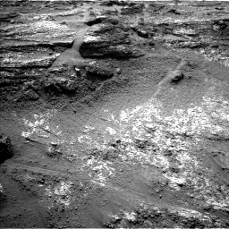 Nasa's Mars rover Curiosity acquired this image using its Left Navigation Camera on Sol 3197, at drive 694, site number 90