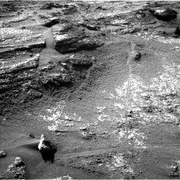 Nasa's Mars rover Curiosity acquired this image using its Left Navigation Camera on Sol 3197, at drive 724, site number 90