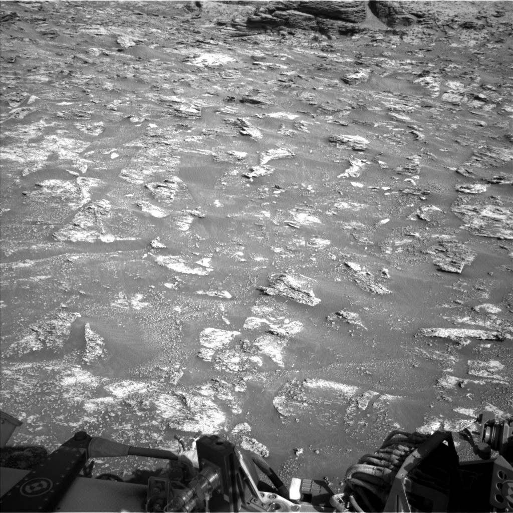 Nasa's Mars rover Curiosity acquired this image using its Left Navigation Camera on Sol 3197, at drive 772, site number 90