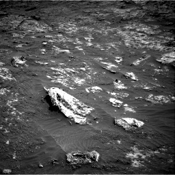 Nasa's Mars rover Curiosity acquired this image using its Right Navigation Camera on Sol 3197, at drive 490, site number 90
