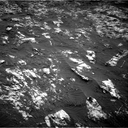 Nasa's Mars rover Curiosity acquired this image using its Right Navigation Camera on Sol 3197, at drive 508, site number 90