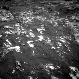 Nasa's Mars rover Curiosity acquired this image using its Right Navigation Camera on Sol 3197, at drive 520, site number 90