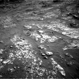 Nasa's Mars rover Curiosity acquired this image using its Right Navigation Camera on Sol 3197, at drive 550, site number 90