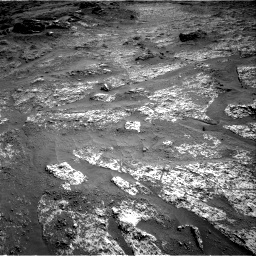 Nasa's Mars rover Curiosity acquired this image using its Right Navigation Camera on Sol 3197, at drive 562, site number 90
