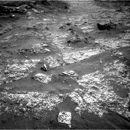 Nasa's Mars rover Curiosity acquired this image using its Right Navigation Camera on Sol 3197, at drive 574, site number 90