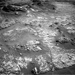 Nasa's Mars rover Curiosity acquired this image using its Right Navigation Camera on Sol 3197, at drive 586, site number 90
