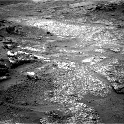 Nasa's Mars rover Curiosity acquired this image using its Right Navigation Camera on Sol 3197, at drive 634, site number 90
