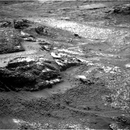 Nasa's Mars rover Curiosity acquired this image using its Right Navigation Camera on Sol 3197, at drive 640, site number 90