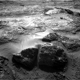 Nasa's Mars rover Curiosity acquired this image using its Right Navigation Camera on Sol 3197, at drive 664, site number 90