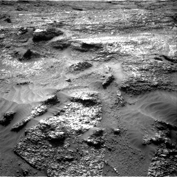 Nasa's Mars rover Curiosity acquired this image using its Right Navigation Camera on Sol 3197, at drive 676, site number 90