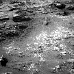 Nasa's Mars rover Curiosity acquired this image using its Right Navigation Camera on Sol 3197, at drive 724, site number 90