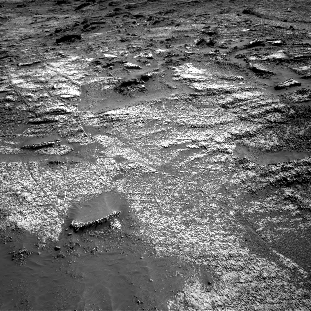 Nasa's Mars rover Curiosity acquired this image using its Right Navigation Camera on Sol 3197, at drive 736, site number 90