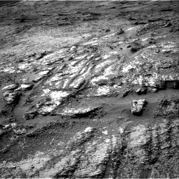 Nasa's Mars rover Curiosity acquired this image using its Right Navigation Camera on Sol 3197, at drive 766, site number 90