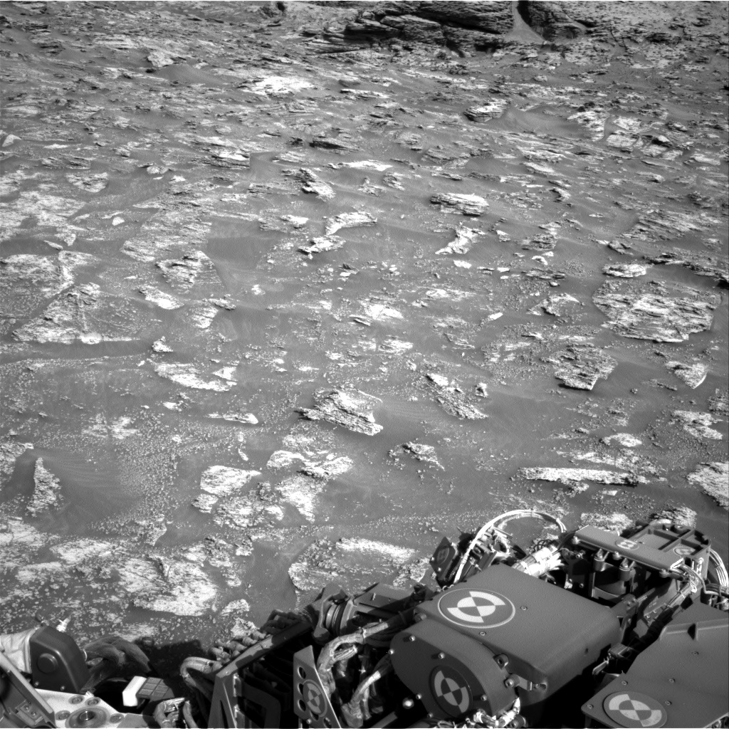 Nasa's Mars rover Curiosity acquired this image using its Right Navigation Camera on Sol 3197, at drive 772, site number 90