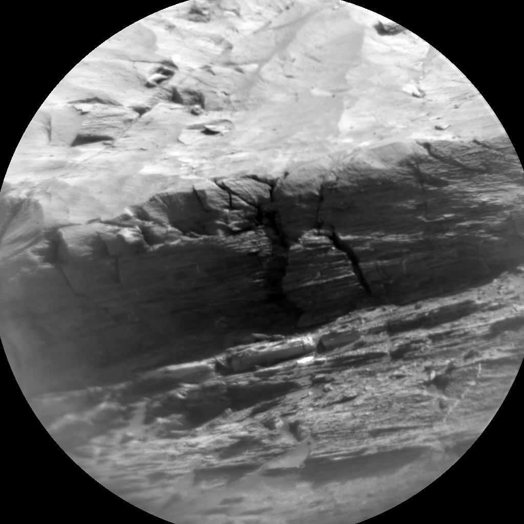 Nasa's Mars rover Curiosity acquired this image using its Chemistry & Camera (ChemCam) on Sol 3197, at drive 460, site number 90