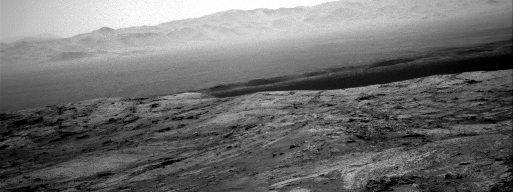 Nasa's Mars rover Curiosity acquired this image using its Right Navigation Camera on Sol 3198, at drive 772, site number 90