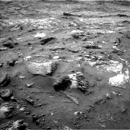Nasa's Mars rover Curiosity acquired this image using its Left Navigation Camera on Sol 3199, at drive 844, site number 90