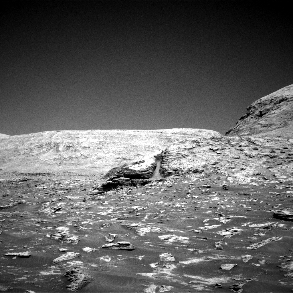 Nasa's Mars rover Curiosity acquired this image using its Left Navigation Camera on Sol 3199, at drive 892, site number 90